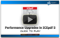 Performance Upgrades in ICEpdf 5