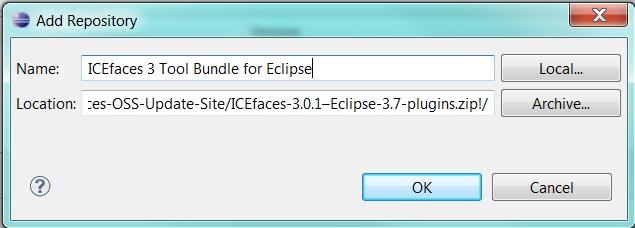 eclipse install plugin from zip